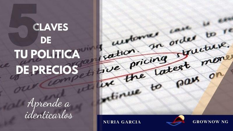 5 puntos clave en tu política de precios