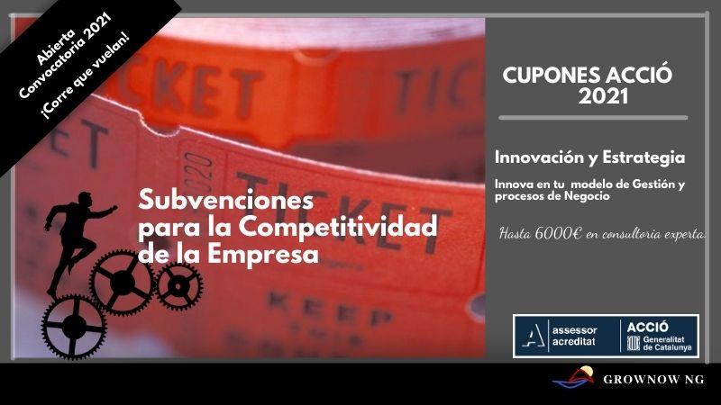 Subvenciones ACCIO de la Generalitat